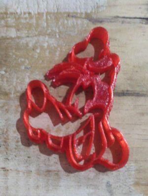 Cortador 3D  Pateta 7 cm