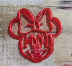 Cortador 3D  Minnie 8,5 cm
