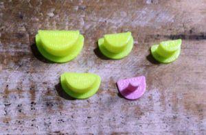 Cortador 3D  Boca Aberta 0,4 / 0,8 / 1,0 / 1,2 / 1,5 cm