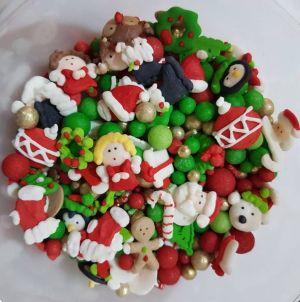 Confeitos/ Sprinkles de Natal 2