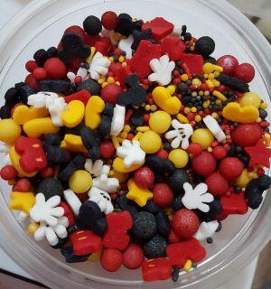 Confeitos/ Sprinkles do Mickey 2