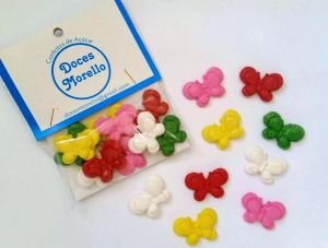 Confeitos/ Srinkles Coloridos Borboletas