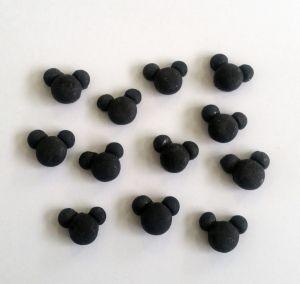 Confeitos/ Sprinkles Coloridos  Rostinhos do Mickey