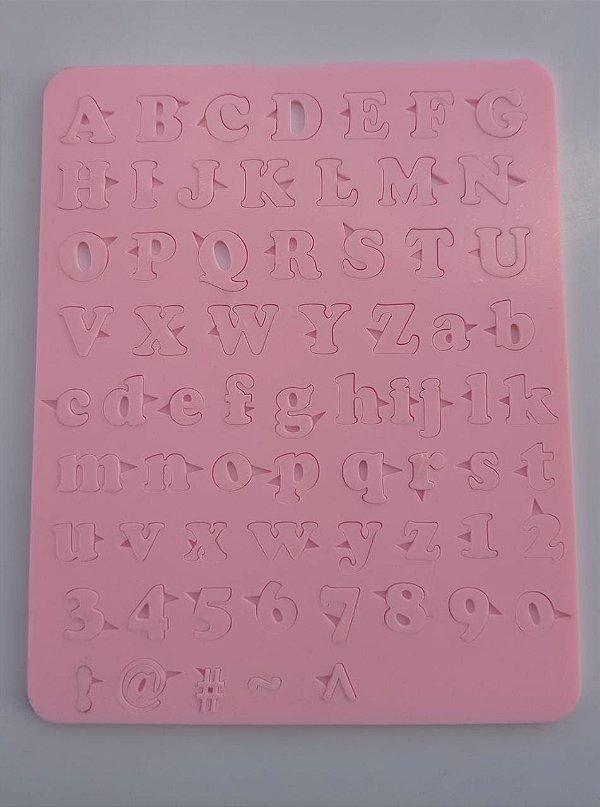 Kit Marcador Acrílico de Alfabeto/ Letras (modelo 6)