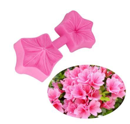 Molde de silicone flor