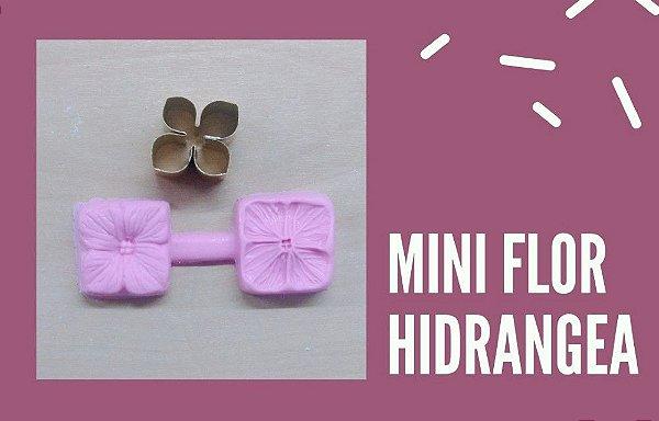Mini kit frisador e cortador flor hidrângea