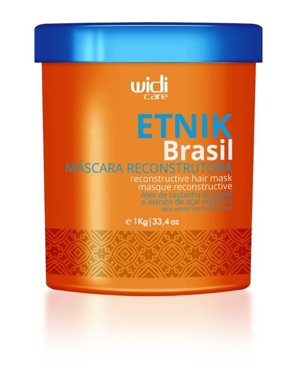 Máscara Reconstrutora Etnik Brasil Widi Care1kg