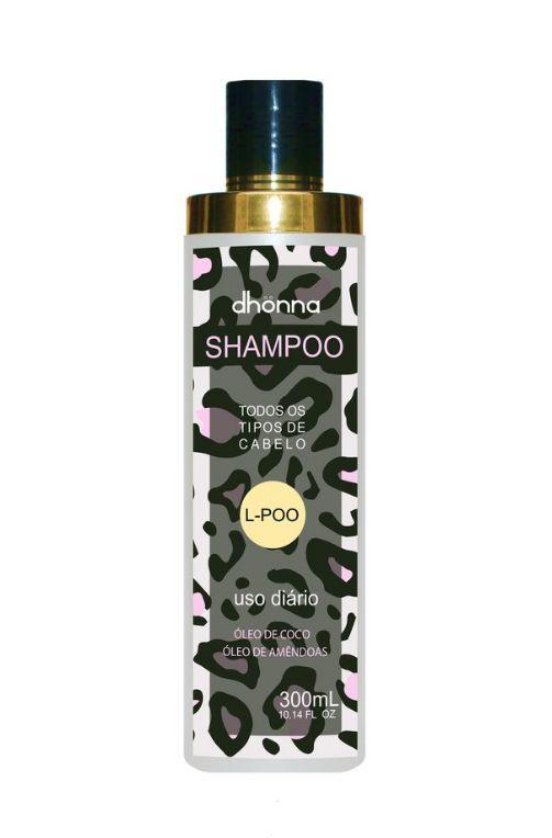 Shampoo  L-Poo Uso Diário - 300ML Dhonna