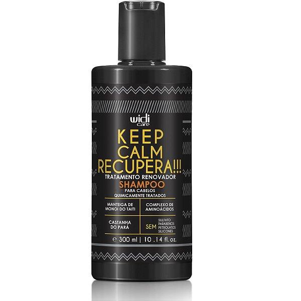 Keep Calm Recupera !!! Shampoo Sem Sulfato 300 ml Widi Care