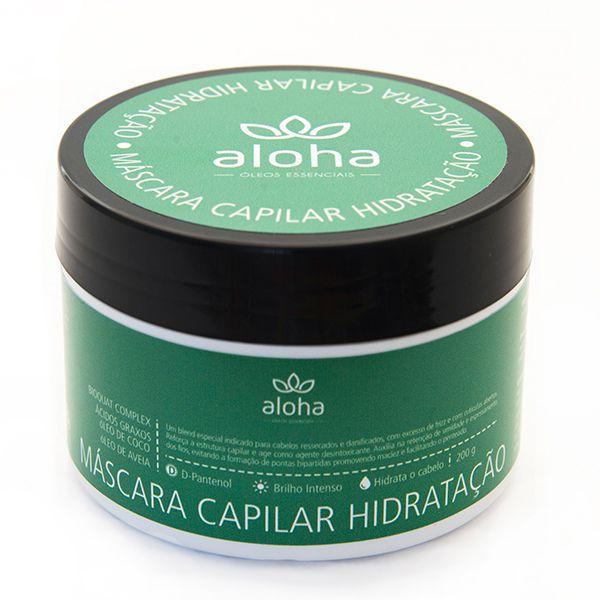 Máscara Capilar Hidratação Aloha Oils 200g