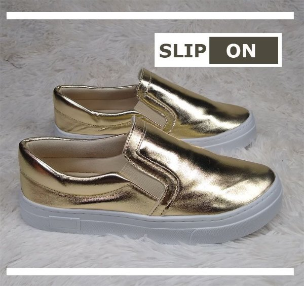SLIP ON SOFT OURO