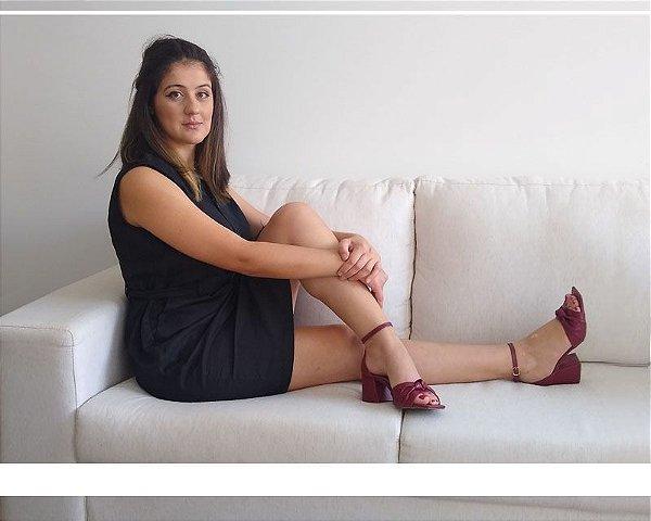 SANDÁLIA LUXO MARSALA