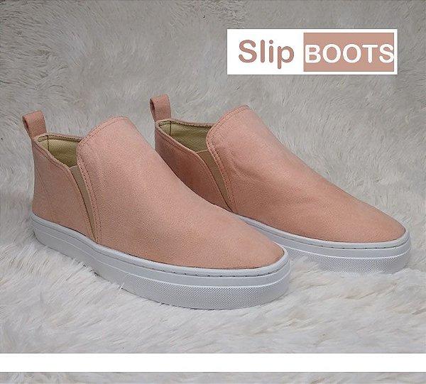 SLIP ON BOOTS ROSADO