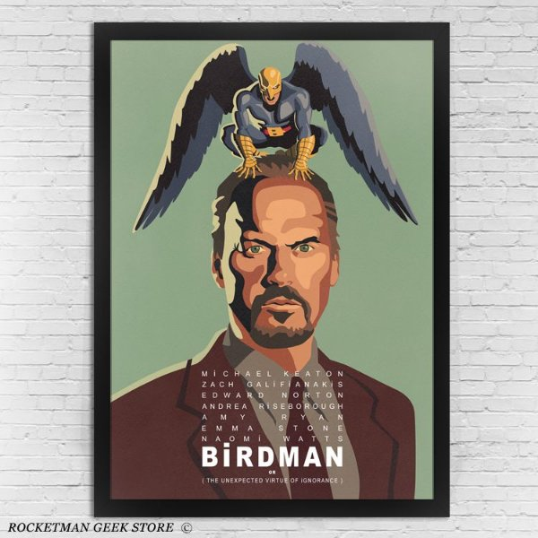 Poster Com Moldura Birdman