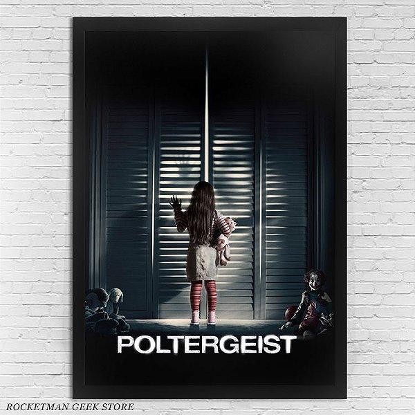 POSTER COM MOLDURA POLTERGEIST