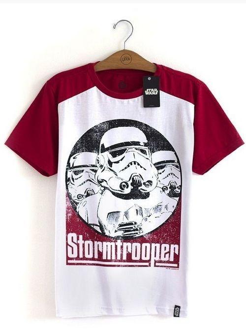 Camiseta Stormtroopers Vermelho