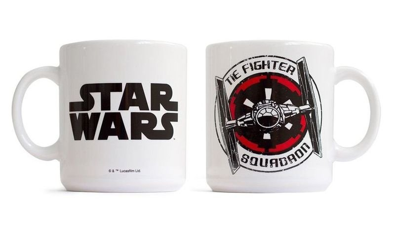 Caneca Tie Fighter