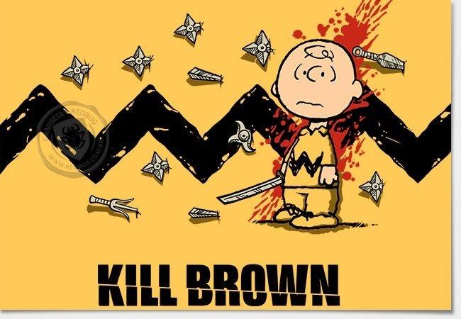 Camisa Kill Brown