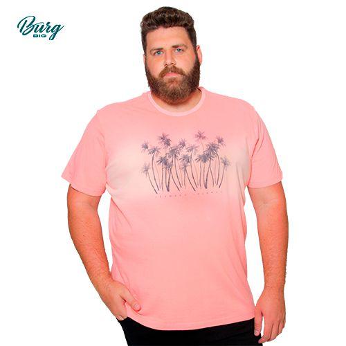 Camiseta Gola Careca Plus Size - Leeward Islands