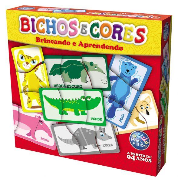 Brinquedo Educativo Bicho e Cores - Pais&Filhos