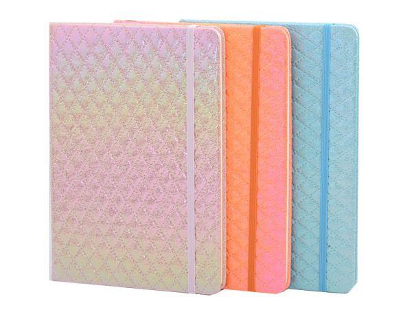 Caderno de Anotações Capa Dura Neon