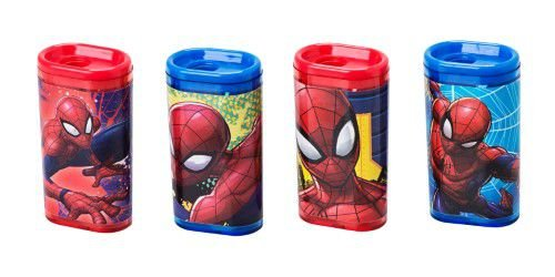 Apontador com depósito Spider-Man
