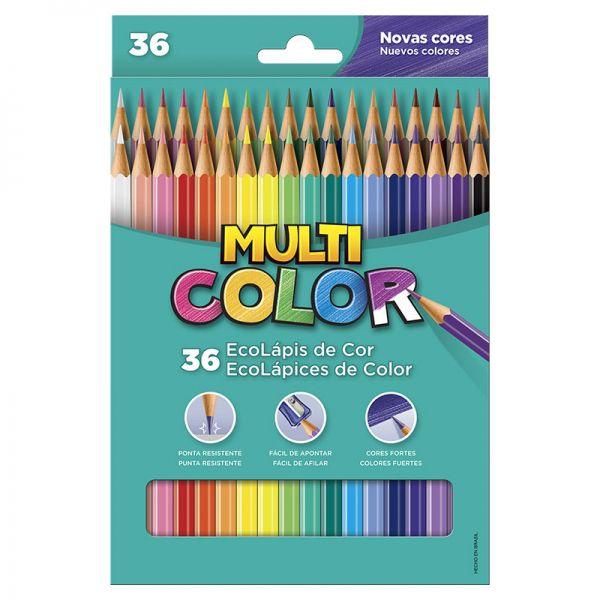 Lápis de cor 36 cores - Multicolor