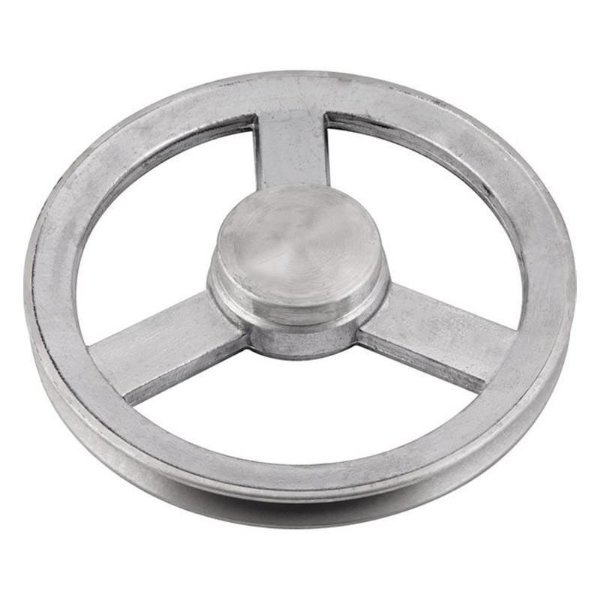 Polia de alumínio industrial canal A1-110 mm mademil