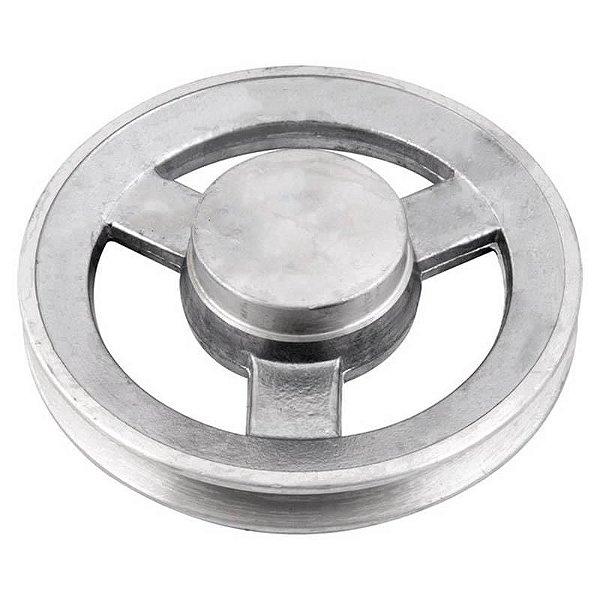 Polia de alumínio industrial canal A1-150 mm mademil