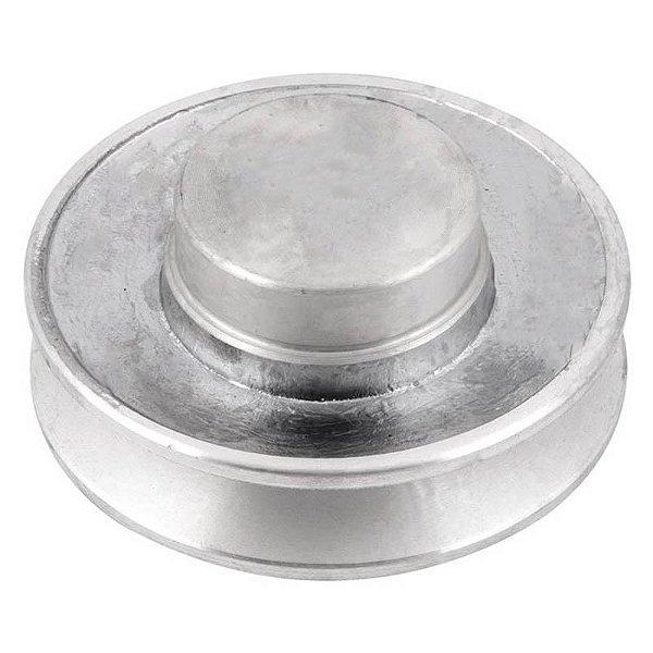 Polia de alumínio industrial canal A1-80 mm mademil