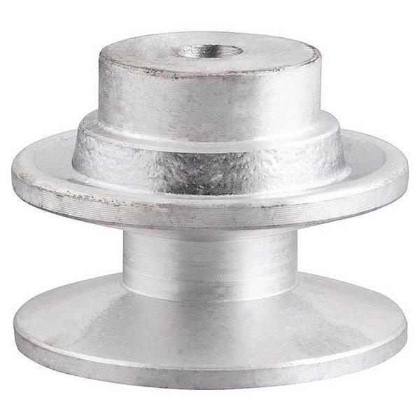 Polia de alumínio industrial canal B1-100 mm mademil