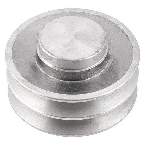Polia de alumínio industrial canal A2-100 mm mademil