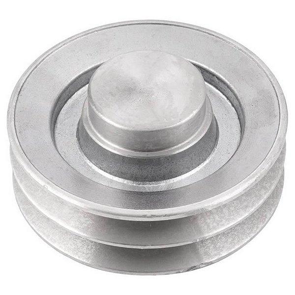 Polia de alumínio industrial canal A2-110 mm mademil