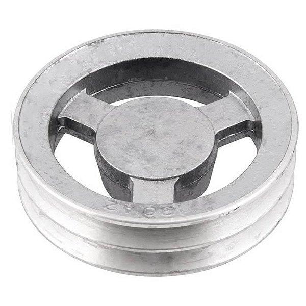 Polia de alumínio industrial canal A2-130 mm mademil