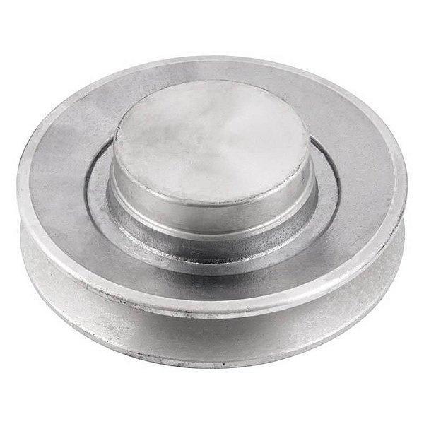 Polia de alumínio industrial canal B1-130 mm mademil