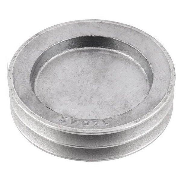 Polia de alumínio industrial canal A2-140 mm mademil