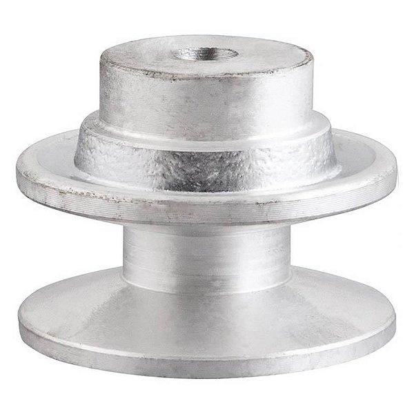 Polia de alumínio industrial canal B1-140 mm mademil