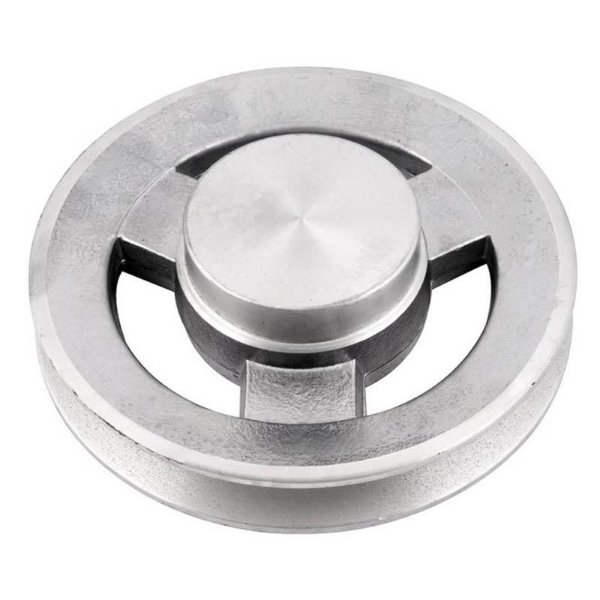 Polia de alumínio industrial canal B1-150 mm mademil