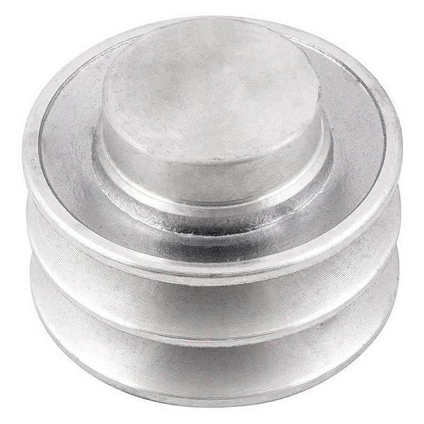 Polia de alumínio industrial canal A2-70 mm mademil