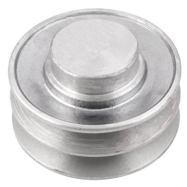 Polia de alumínio industrial canal A2-80 mm mademil