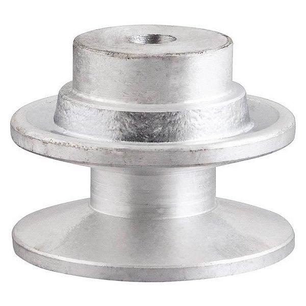 Polia de alumínio industrial canal B1-80 mm mademil