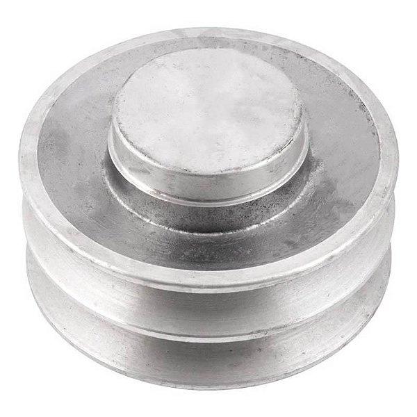 Polia de alumínio industrial canal B2-110 mm mademil