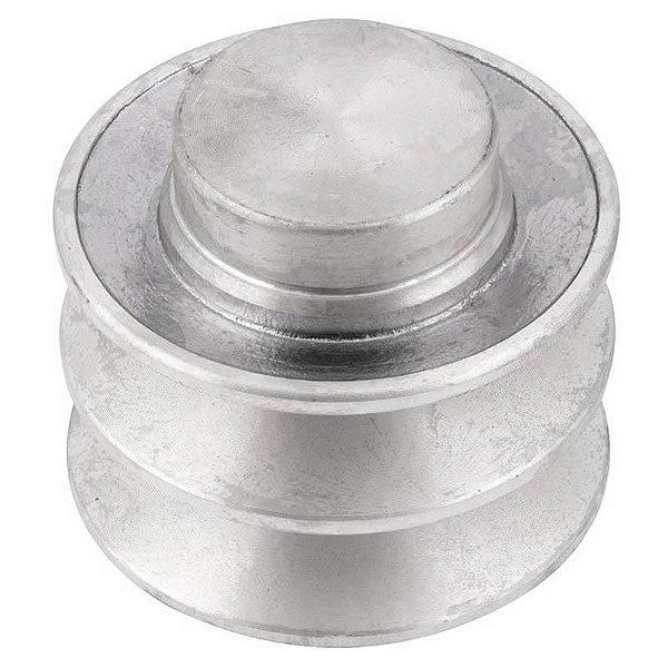 Polia de alumínio industrial canal B2-70 mm mademil