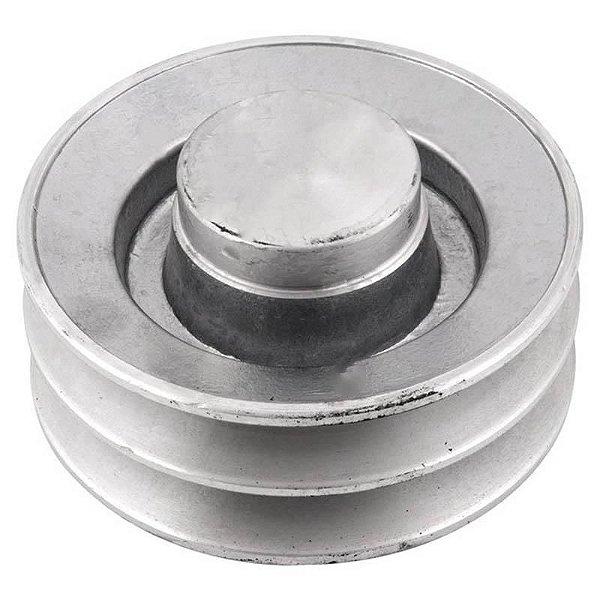 Polia de alumínio industrial canal B2-120 mm mademil