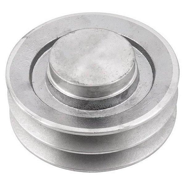 Polia de alumínio industrial canal B2-130 mm mademil