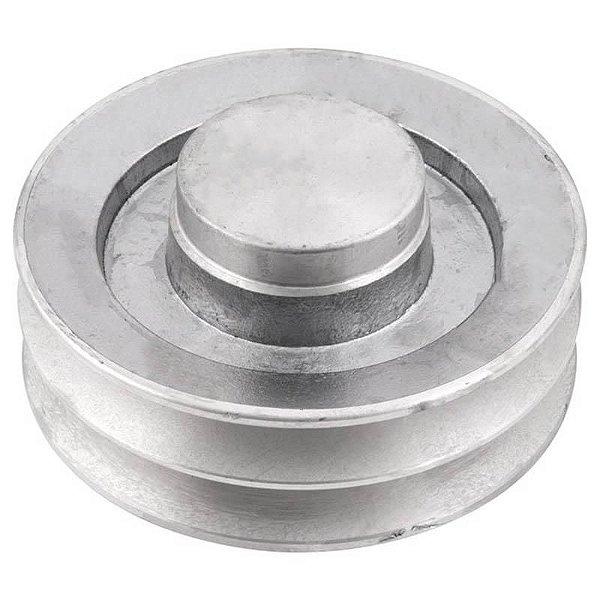 Polia de alumínio industrial canal B2-140 mm mademil