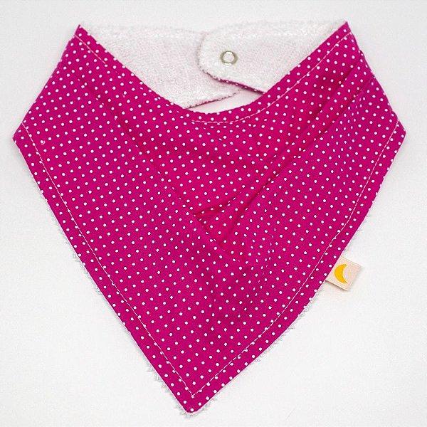 Bandana - Pink poá
