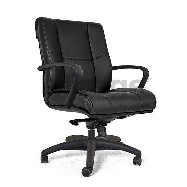 Cadeira Escritório Giratória Boss Diretor Preta