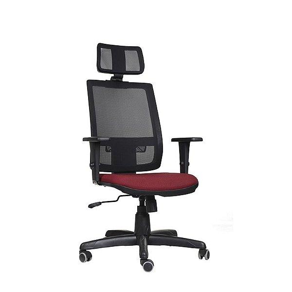 Cadeira Escritório Giratória Icon Presidente Preta