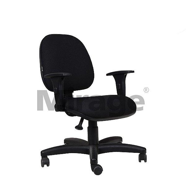 Cadeira Escritório Giratória Tech Pro Diretor Preta